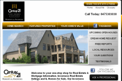 Real estate website design in Chicago