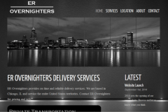 Website design shipping warehouse
