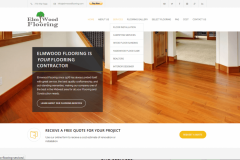 Website design Chicago flooring company