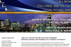 Attorney website design in Chicago