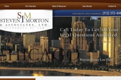 Law firm website design Chicago